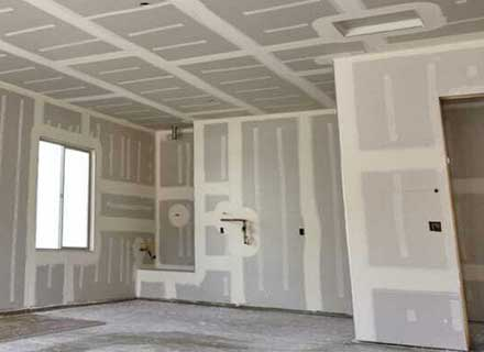 Gypsum ceiling and partition
