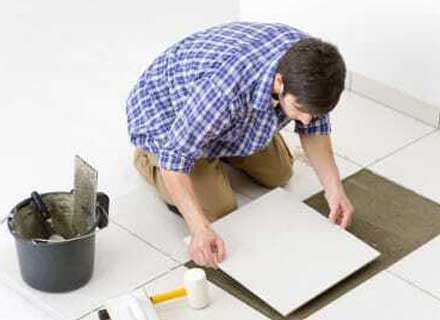 Marble and tiles fixing
